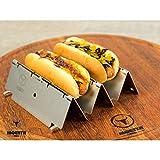 Moesta-BBQ DoggieRoast - der Hotdog Röster (2er Set) sloppy joe hot dog-image-Sloppy Joe Hot Dog mit Hackfleisch- und Käsesauce