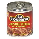 La Costena Chili Chipotle, 8er Pack (8 x 199 g) chipotle sauce-image-Chipotle Sauce für Burger und Sandwiches