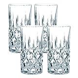 Spiegelau & Nachtmann, 4-teiliges Longdrink-Set, Kristallglas, 375 ml, Noblesse, 89208 vodka tonic-image-Vodka Tonic – Vodrock mit Tonic, gegrillter Pflaume und Minze