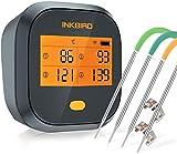 Inkbird Grillthermometer , Grillthermometer Wlan IBBQ-4T mit IPX3 Spritzfest, WiFi... inkbird ibbq-4t-image-Inkbird IBBQ-4T WLAN-Thermometer im Test