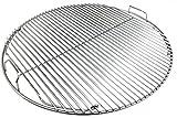 Grillfürst Premium 5mm Edelstahl Rost/Grillrost klappbar für 570er / 57er Grills edelstahl-grillrost 57 cm-image-Edelstahl-Grillrost 57 cm für Kugelgrills (Weber, Napoleon, etc.) für 39,90€