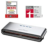 ProfiCook PC-VK 1080 Edelstahl-Vakuumiergerät, Lebensmittel bleiben vakuumiert bis zu 8x länger... vakuumierer kaufen-image-Vakuumierer kaufen? Vakuumgeräte-Übersicht von Caso und Co.
