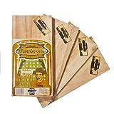 Axtschlag Grillbretter Erle, 3 Wood Planks zum schonenden Garen mit aromatischer Rauchnote und... geplankte langustenschwänze-image-Geplankte Langustenschwänze in Teriyaki-Marinade