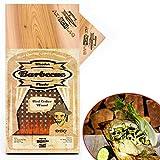 Axtschlag Grillbretter Zeder, 3 Wood Planks zum schonenden Garen mit aromatischer Rauchnote und... schweinefilet mit steinpilz-rub-image-Schweinefilet mit Steinpilz-Rub von der Planke