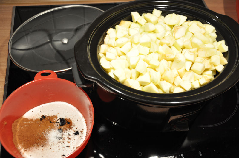 Apple Butter aus dem Crockpot-apple butter-AppleButter01