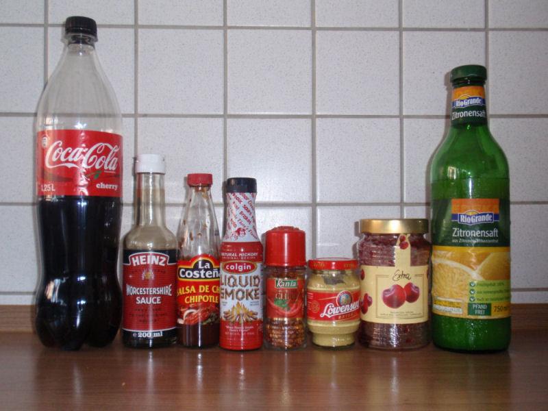 Zutaten für Cherry BBQ-Sauce cherry chipotle bbq-sauce-CherryChipotleBBQSauce01-Cherry Chipotle BBQ-Sauce