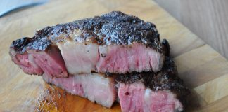 Blackened Rib-Eye Steak
