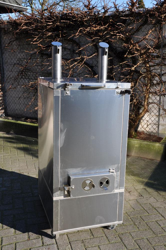 Die Rückansicht Neuer Smoker für die BBQ Wiesel Niederrhein: Fire Magic Smoker 24S-SMB-Fire Magic Smoker 24S-SMB-FireMagicSmoker03