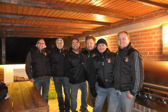 Die BBQ Wiesel Niederrhein beim Wintergrillen mit Radio KW
