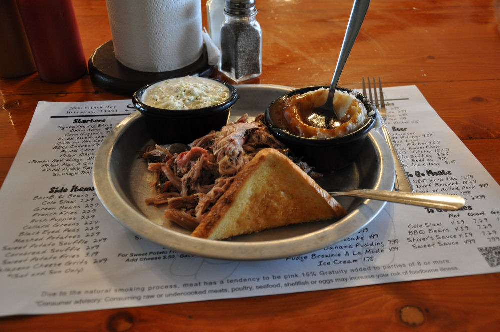 Pulled Pork @Shivers BBQ Homestead On Tour: Die besten BBQ-Locations in Florida-BBQ-Locations Florida-BBQ04