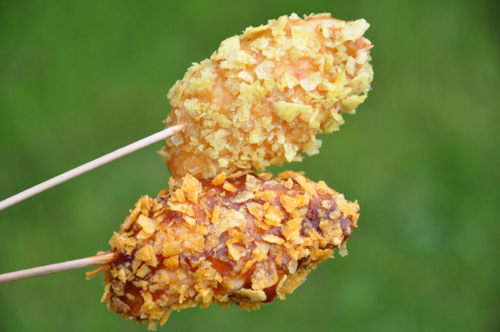 Crunchy Chicken Sticks