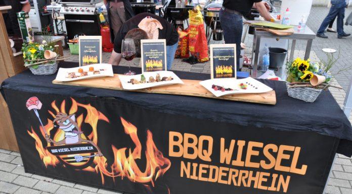 Die BBQ Wiesel Niederrhein werden Vizemeister bei der 1.Overather Grillmeisterschaft-Overather Grillmeisterschaft-OV13 696x385