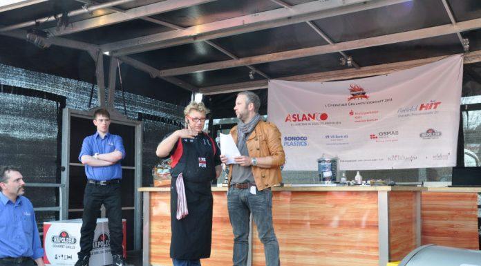 Die BBQ Wiesel Niederrhein werden Vizemeister bei der 1.Overather Grillmeisterschaft-Overather Grillmeisterschaft-OV17 696x385