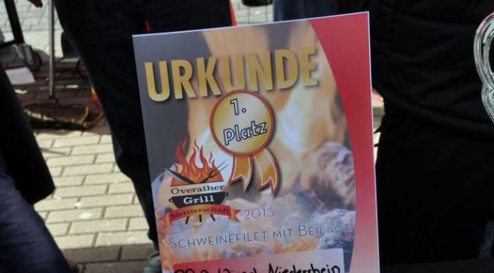 Die BBQ Wiesel Niederrhein werden Vizemeister bei der 1.Overather Grillmeisterschaft-Overather Grillmeisterschaft-OV21 696x385