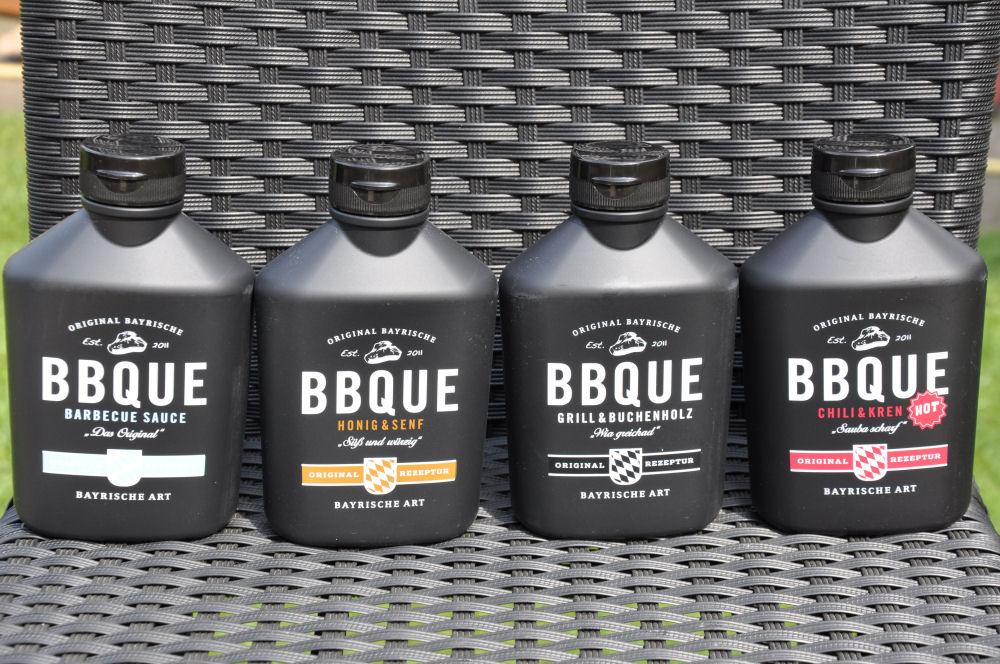 BayrischeBBQUESauce01 BBQUE-BayrischeBBQUESauce01-Alle 4 Sorten BBQUE Bayrische BBQ Sauce im Test