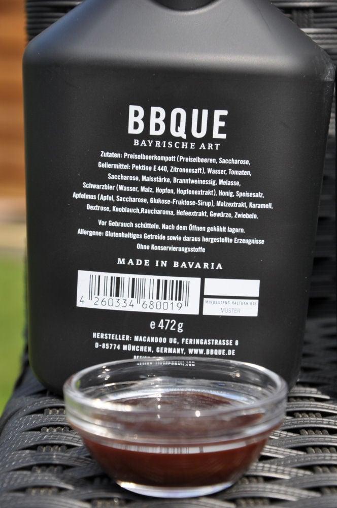 """BBQUE Bayrische BBQ-Sauce """"Das Original"""" Alle 4 Sorten BBQUE Bayrische BBQ Sauce im Test-BBQUE-BayrischeBBQUESauce03"""