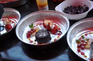 Das Dessert im Foodtainer Dingdener Grillmeisterschaft-DingdenerGrillmeisterschaft19 300x199-Die BBQ Wiesel Niederrhein werden Dritter bei der 2.Dingdener Grillmeisterschaft