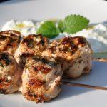 Grieschische Grillspiesse Griechische Lollies mit Feta-Füllung und Tzatziki-griechische lollies-GriechischeLollies09 150x150