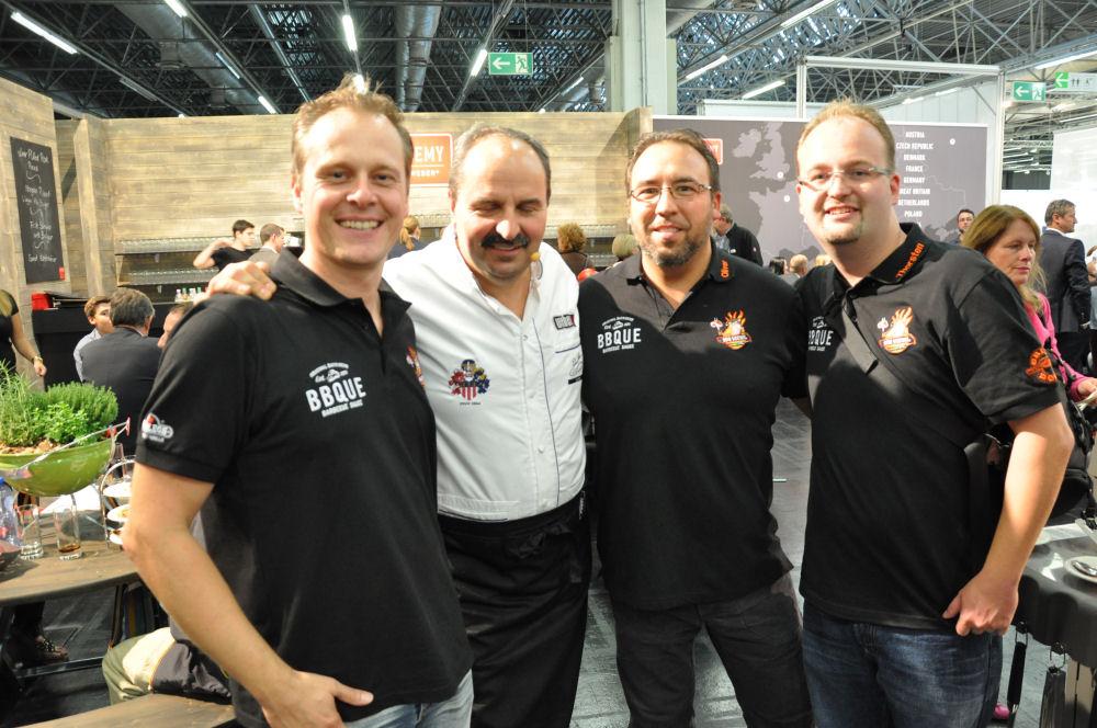 Johan Lafer und die BBQ Wiesel SPOGA 2013 in Köln und der Dutch Troy-SPOGA 2013-SPOGA11