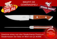 Steakchamp Gewinnspiel