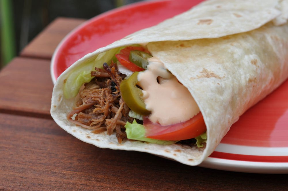 Pulled Pork Wrap Pulled Pork Wrap-PulledPorkWrap04-Pulled Pork Wrap