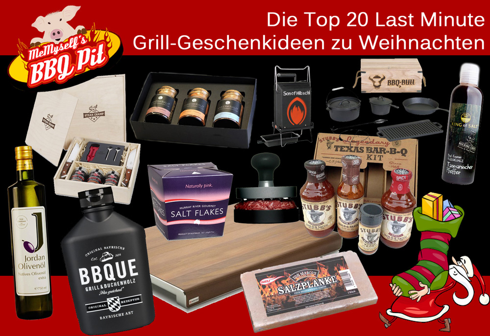 die top 20 last minute grill geschenkideen zu weihnachten grillrezepte tipps. Black Bedroom Furniture Sets. Home Design Ideas