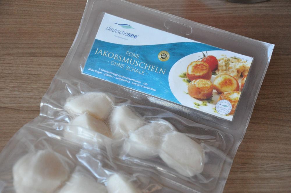 Jakobsmuscheln Jakobsmuscheln von der Salzplanke mit Orangen-Feldsalat-Jakobsmuscheln-Jakobsmuscheln01