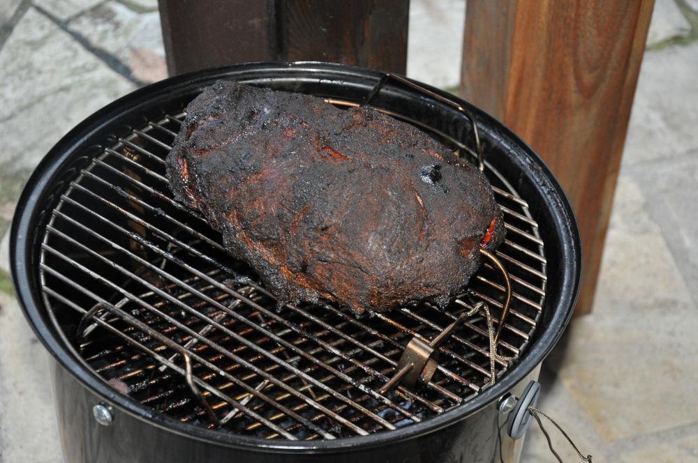 Pulled Pork auf dem Smokey Mountain WSM 37 WSM 37-WeberSmokeyMountain37Test10-Weber Smokey Mountain WSM 37 im Test mit Ribs und Pulled Pork