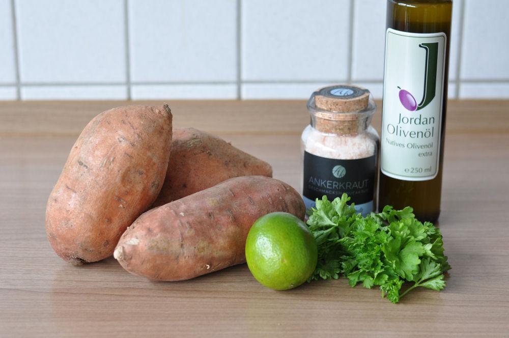 Gegrillte Süßkartoffeln Gegrillte Süßkartoffeln mit Olivenöl-Limetten-Marinade-Gegrillte Süßkartoffeln-GegrillteSuesskartoffeln01