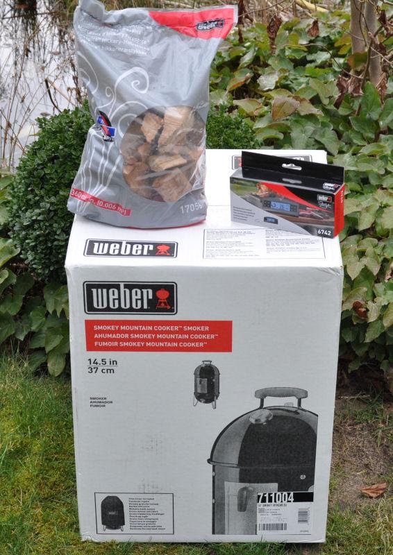 Weber Gewinnspiel Gewinnspiel März 2014: Weber Smokey Mountain 37 + Zubehör im Wert von 359 Euro zu gewinnen-Weber Gewinnspiel-WeberGewinnspielWSM
