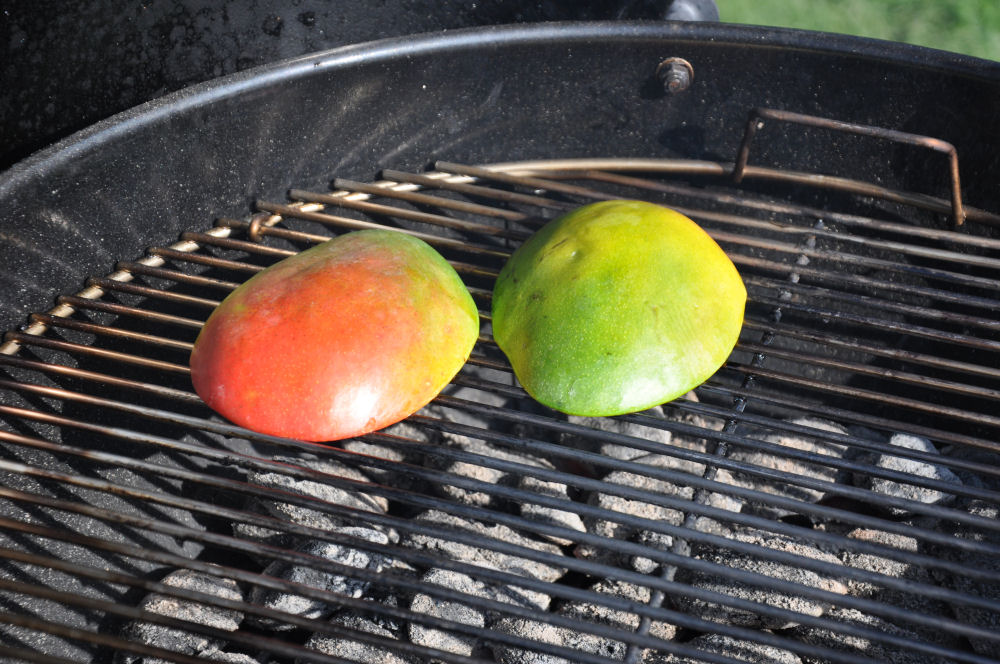 Gegrillte Mango Mango-Minz-Chutney-MangoMinzChutney02-Mango-Minz-Chutney mit Jakobsmuscheln im Speckmantel