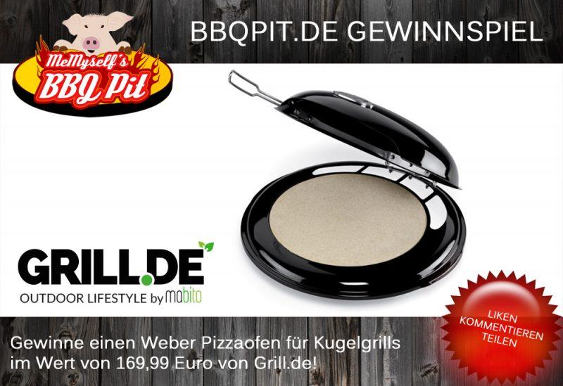 Weber Pizzaofen-PizzaofenGewinnspiel 800x549-Gewinnspiel Mai 2014: Weber Pizzaofen für Kugelgrills im Wert von 169 Euro zu gewinnen