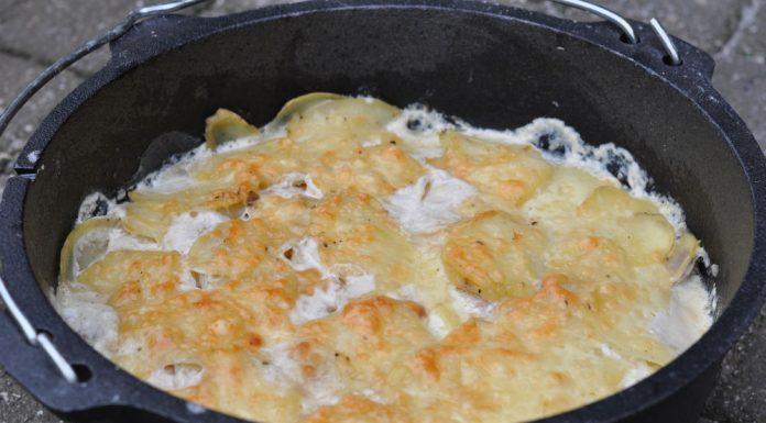 Kartoffelgratin Dutch-Oven