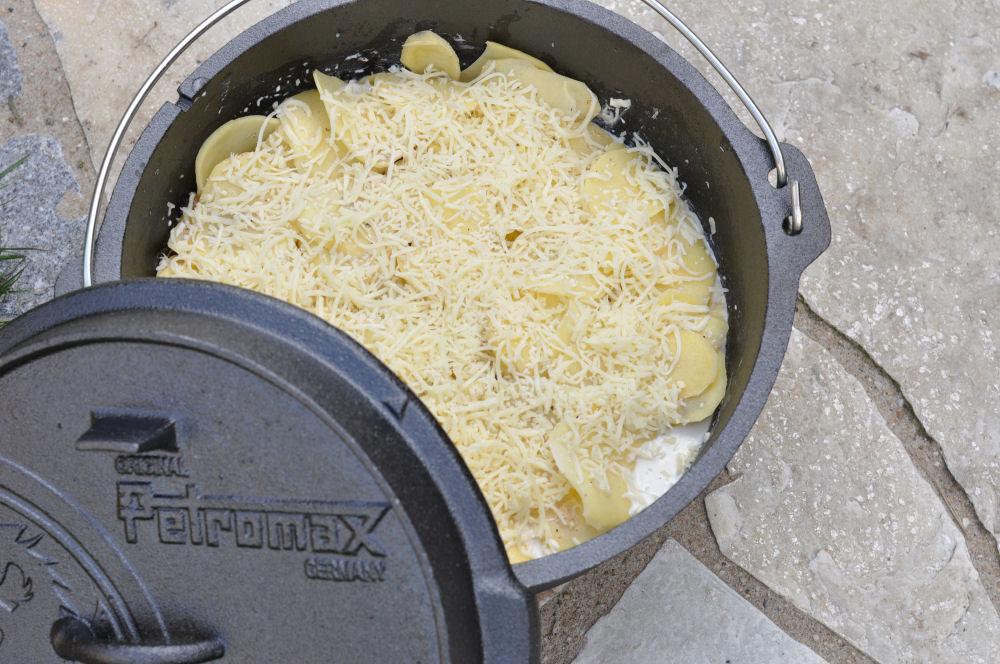 Kartoffel-Gratin aus dem Dutch-Oven Kartoffelgratin aus dem Dutch Oven-kartoffelgratin-Kartoffelgratin02