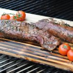 Geplanktes Schweinefilet rosmarin-balsamico-schweinefilet-RosmarinBalsamicoSchweinefilet 150x150-Rosmarin-Balsamico-Schweinefilet von der Zedernholzplanke
