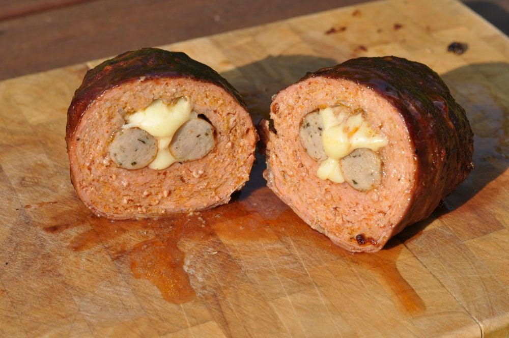 Mini Bacon Bombs mini bacon bombs-MiniBaconBombs05-Mini Bacon Bombs mit Nürnberger und Käse-Füllung
