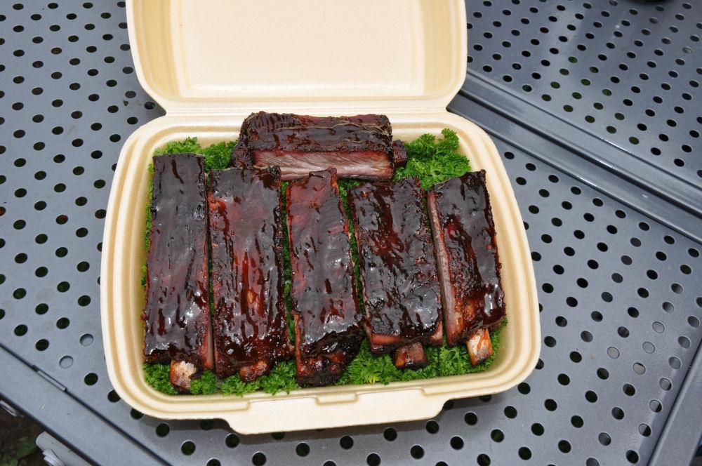 Ribs St. Louis Cut Tony Stone 2014-TonyStone2014 03-Tony Stone 2014 – Low & Slow BBQ Competiton mit den BBQ Wieseln