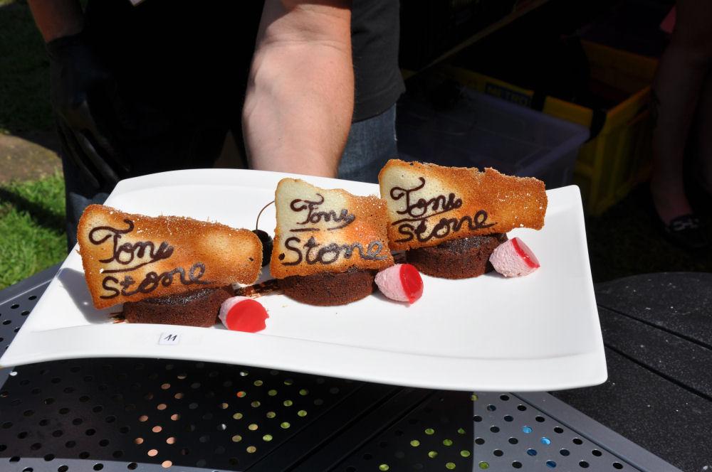 Schokokuchen mit Hippe Tony Stone 2014-TonyStone2014 15-Tony Stone 2014 – Low & Slow BBQ Competiton mit den BBQ Wieseln