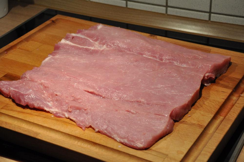 Schweinerücken schweinerücken caprese-ItalienischerSchweinerueckenCaprese02-Gefüllter Schweinerücken Caprese mit Tomate & Mozzarella