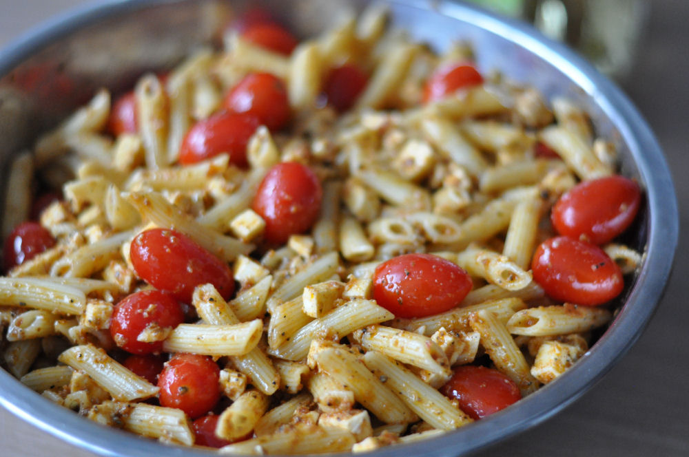 Pesto-Nudelsalat Pesto-Nudelsalat nach italienischer Art-Pesto-Nudelsalat-PestoNudelsalat04