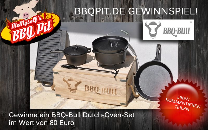 BBQ-Bull Gewinnspiel-bbqbullgewinnspiel 800x500-BBQ-Bull Gewinnspiel: 7-teiliges BBQ-Bull Dutch Oven-Set zu gewinnen