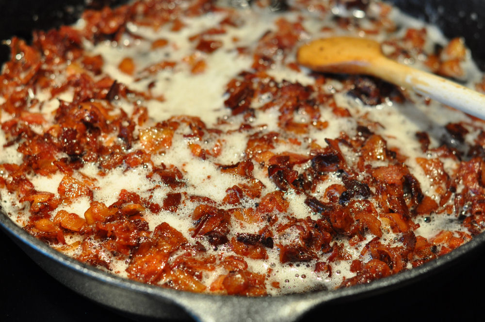 BaconJam03 bacon jam-BaconJam03-Bacon Jam / Speck-Marmelade mit Whisky