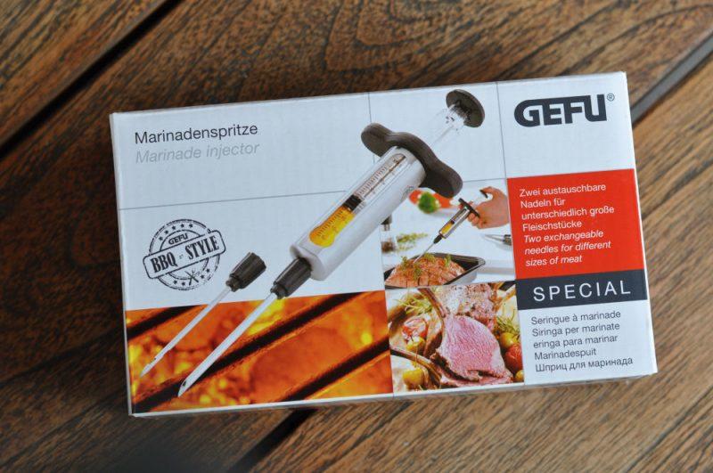 GEFU Marinadenspritze-GefuMarinadenspritze 800x531-GEFU Marinadenspritze / Injektionsspritze mit 2 Nadeln
