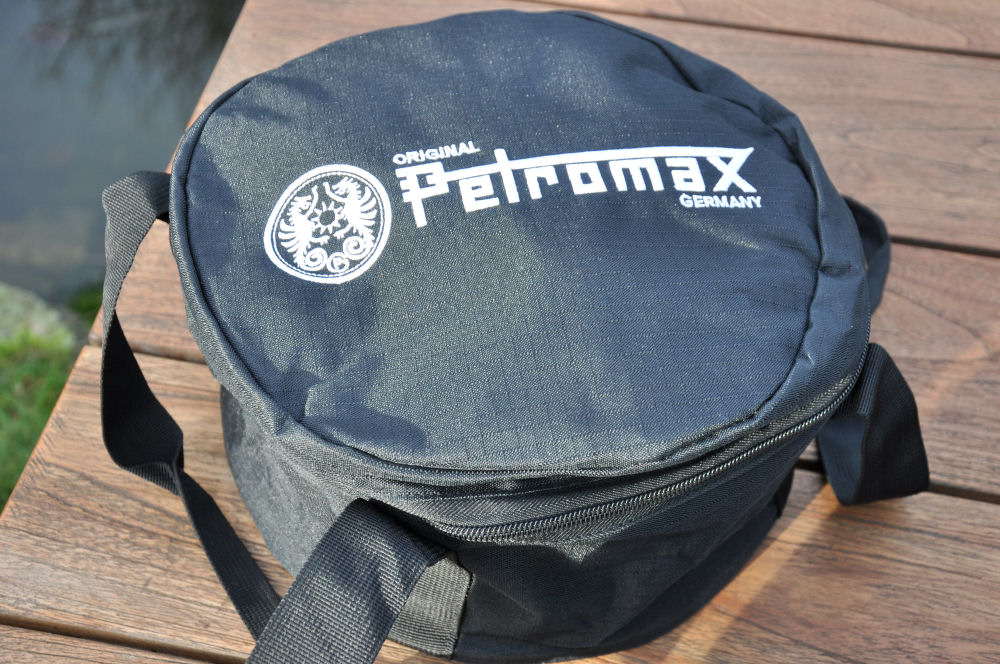 Petromax Nylontasche Petromax Feuertopf / Dutch Oven im Test-petromax feuertopf-PetromaxDutchOven04