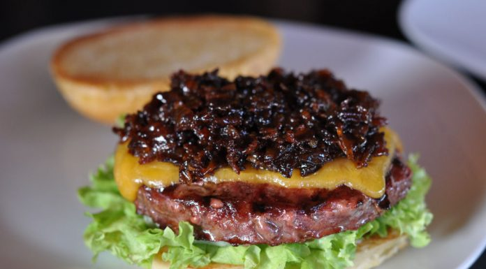 Bacon Jam Burger