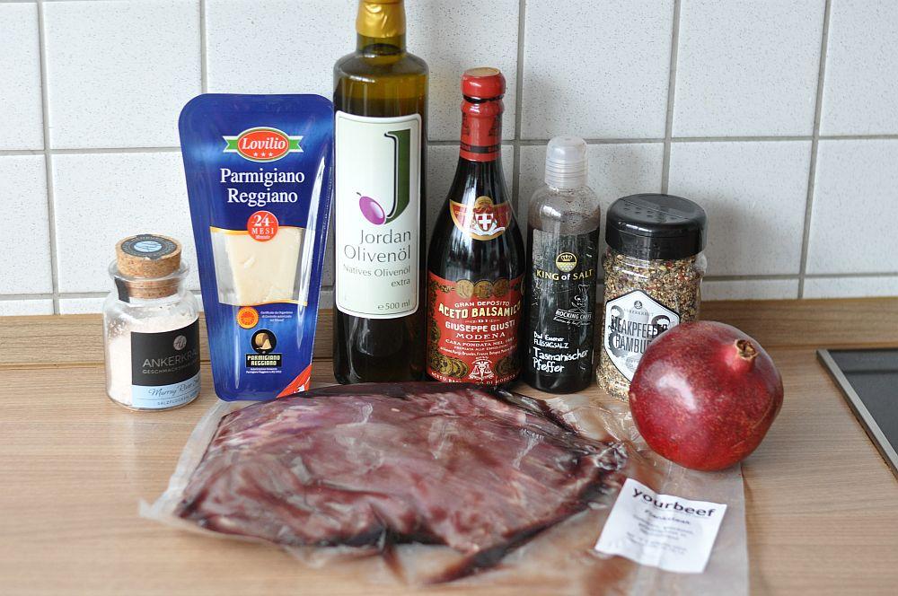 Parmesan-Granatapfel Flank Steak Parmesan-Granatapfel Flank Steak-ParmesanGranatapfelFlank01-Wildes Parmesan-Granatapfel Flank Steak