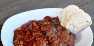 Chorizo Brisket Chili