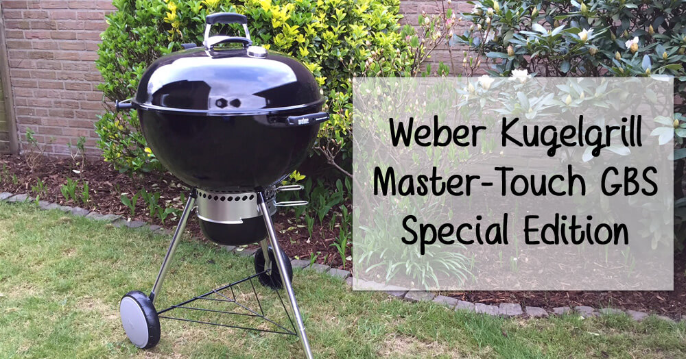weber kugelgrill master touch gbs special edition. Black Bedroom Furniture Sets. Home Design Ideas