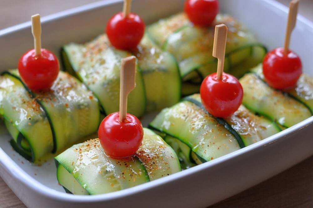 Feta-Zucchinipäckchen Zucchini-Fetapäckchen-FetaZucchinipaeckchen06-Zucchini-Fetapäckchen mit Smoking Zeus Rub