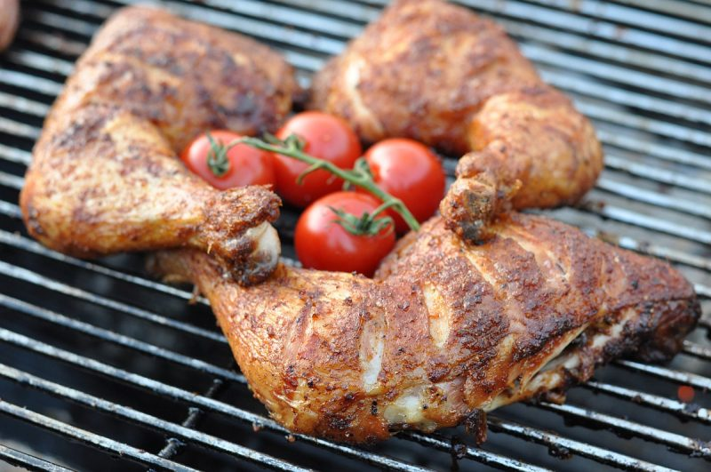 gegrillte hähnchenschenkel-Gegrillte Haehnchenschenkel Texas Chicken 800x531-Gegrillte Hähnchenschenkel Texas Chicken